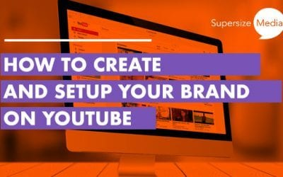 How to create and setup your brand on YouTube
