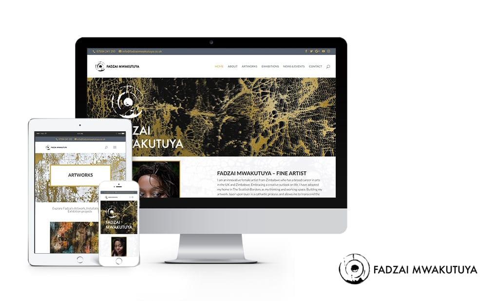fadzai mwakutuya website design