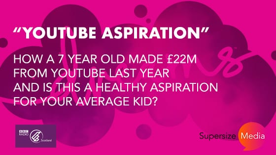 YouTube Aspiration – With Stephan Jardine